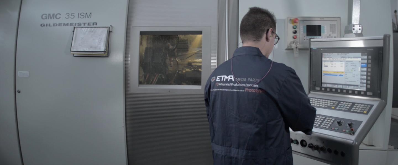 Imagem retirada do vídeo do processo Torneamentos
