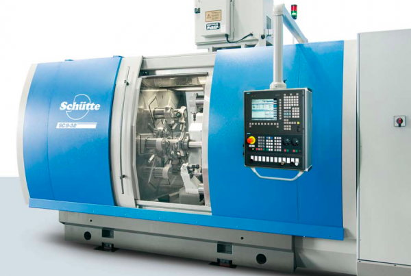 A nova máquina Schutte SC9 26 é uma adição importante na gama de fabrico da ETMA