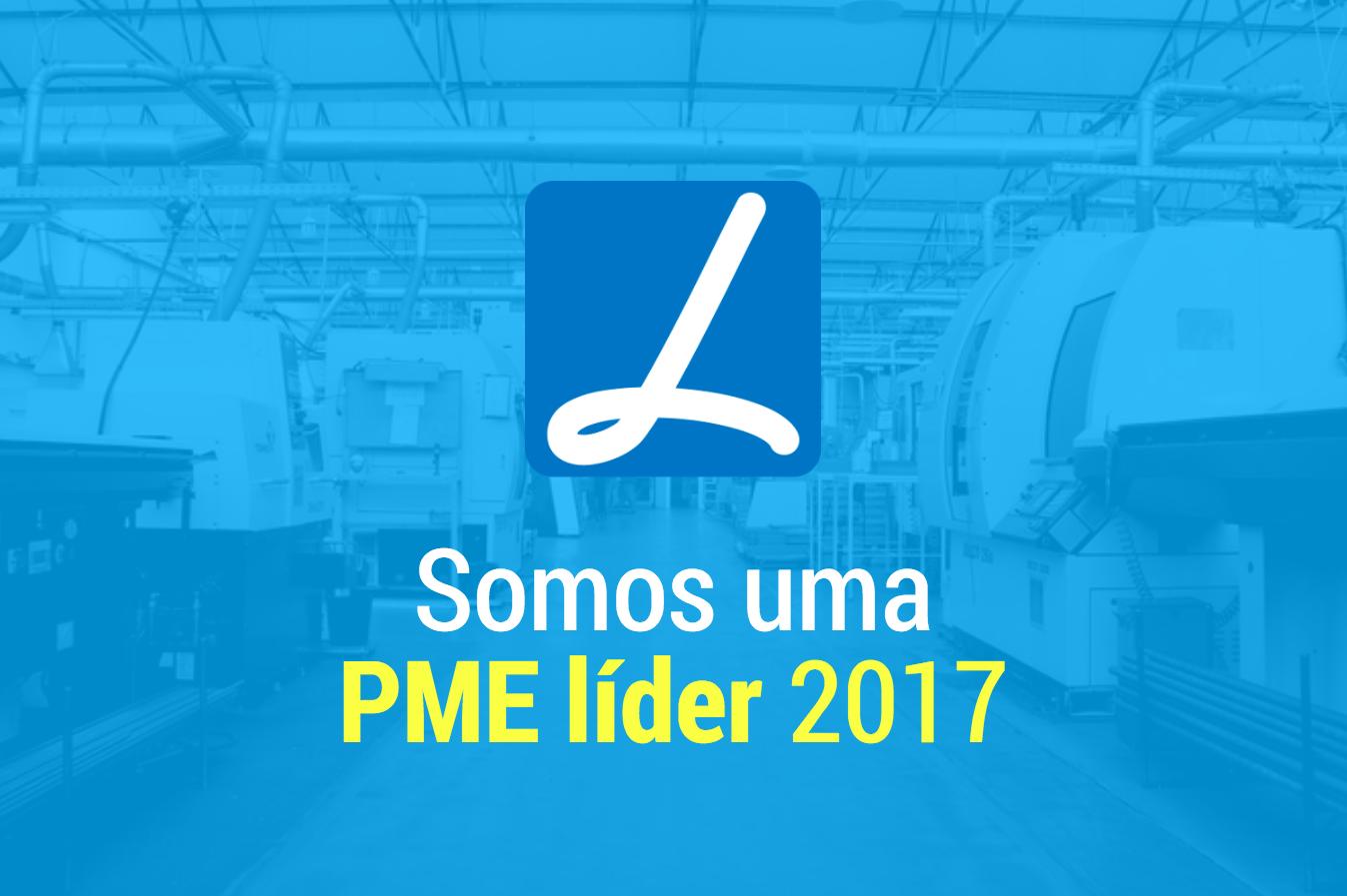 A ETMA é uma PME Líder 2017