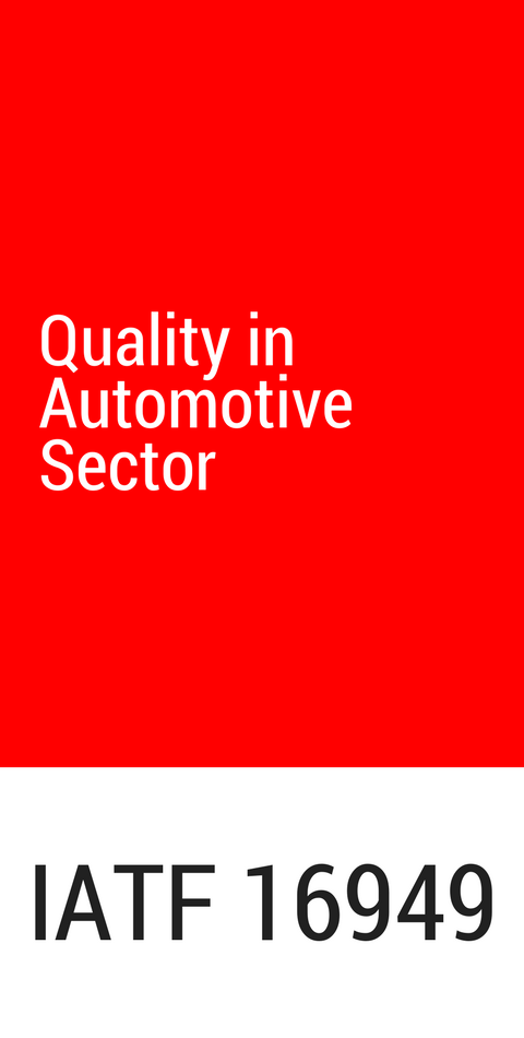 ETMA has a Quality Management System according to the IATF 16949:2016 standard