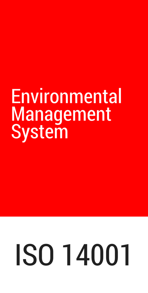 ETMA has an Environmental Management System according to the ISO 14001:2015 standard