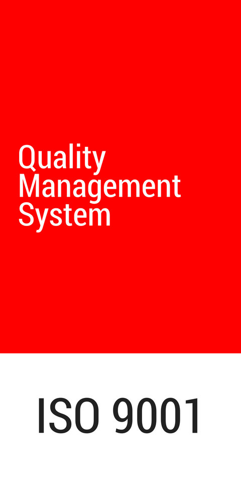 ETMA has a Quality Management System according to the ISO 9001:2015 standard